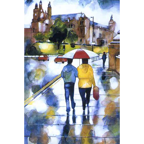 Wet Walk to Kelvingrove