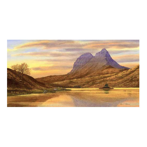 Suilven from the Cam Loch