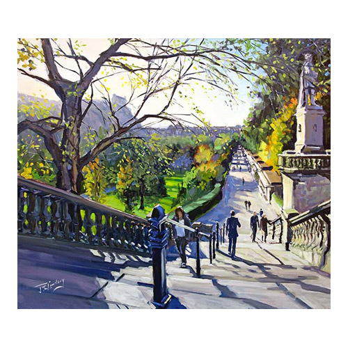 Autumn Afternoon, Princes Street Gardens