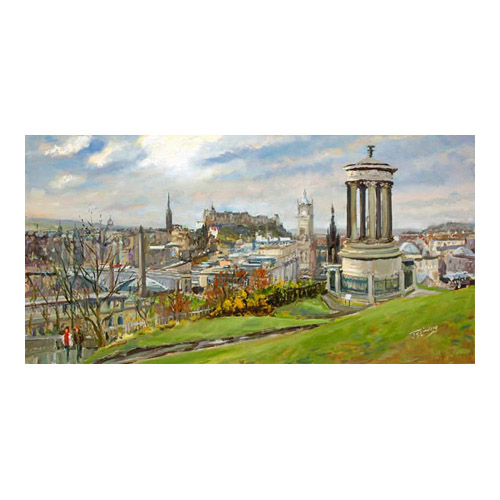 February on Calton Hill