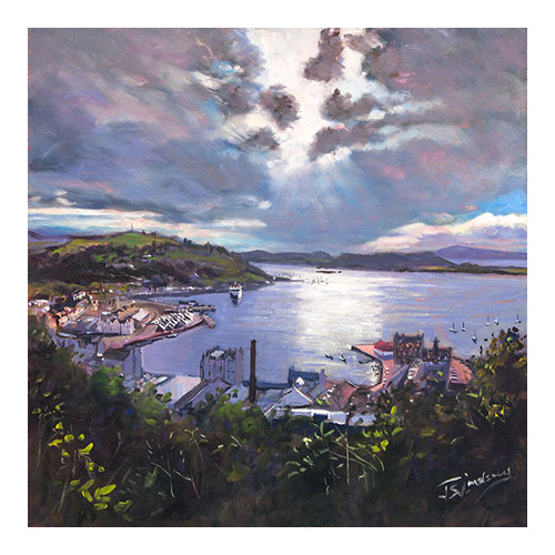 Oban Vista from McCaigs Folly