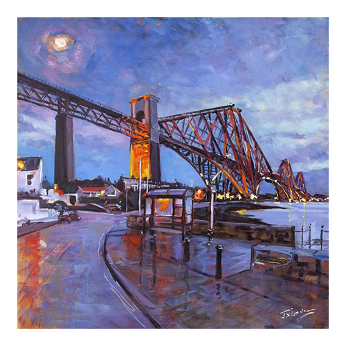 The Rail Bridge, North Queensferry